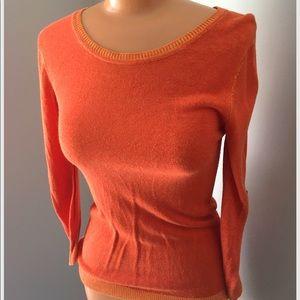 ANNABELLA orange fitted sweater
